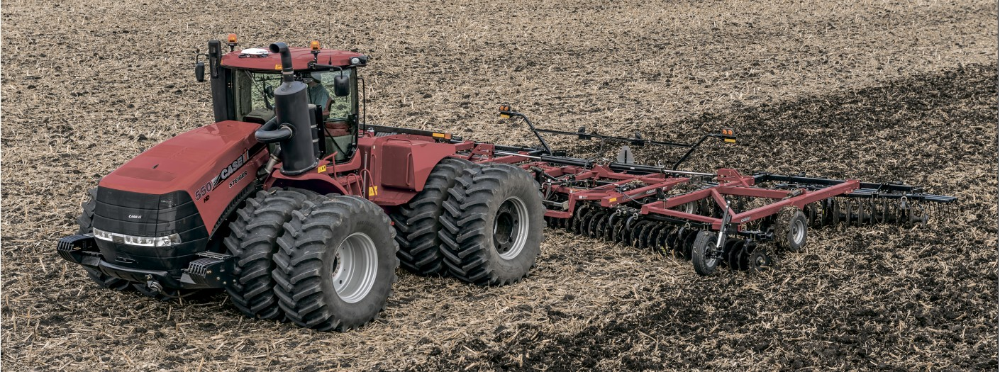 Трактор Case IH Steiger 550