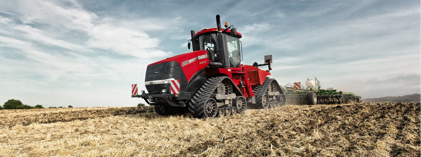 Трактор Case IH Quadtrac 550