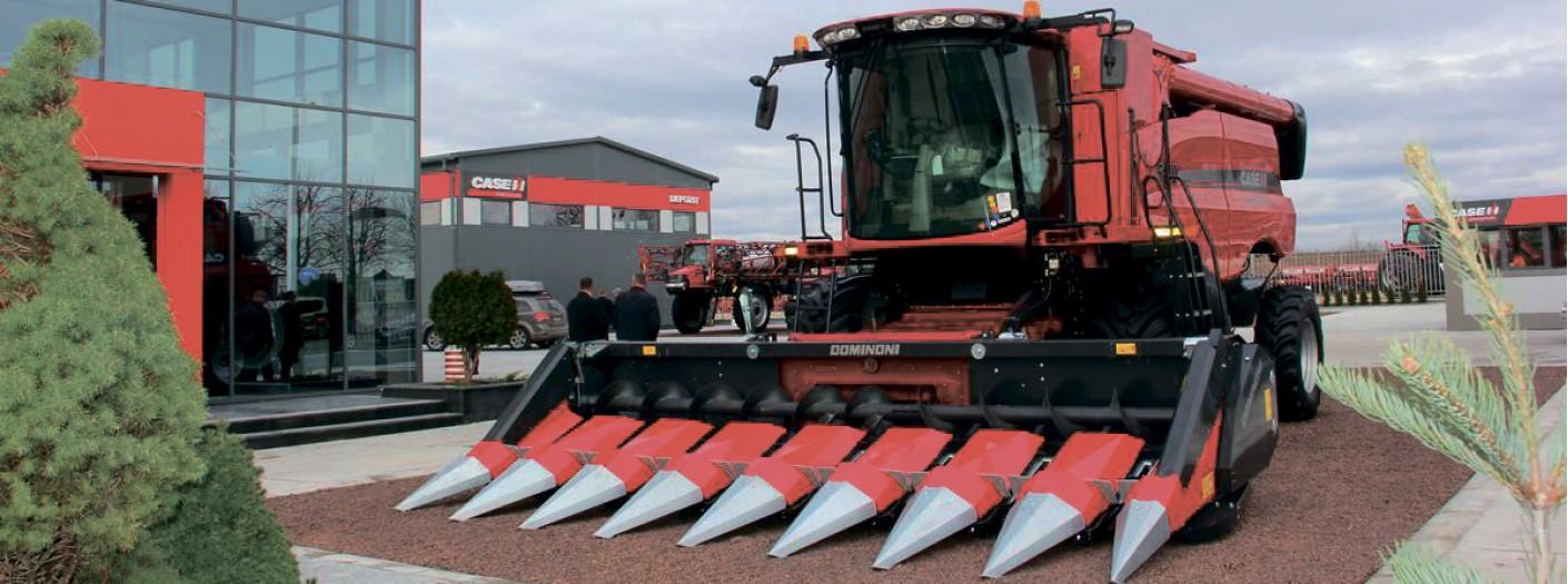 Жниварки для збирання кукурудзи Dominoni